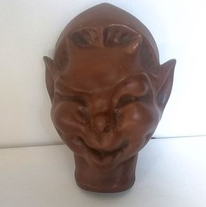 Vintage collectable Frankoma pottery mask